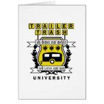 TRAILER TRASH UNIVERSITY CARD