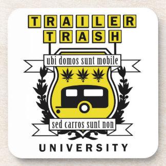 TRAILER TRASH UNIVERSITY COASTER