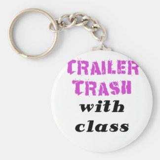 Trailer Trash with Class Key Chain