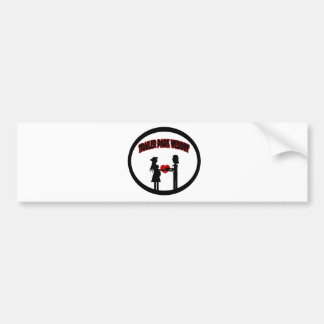 Trailer Wedding Bumper Sticker
