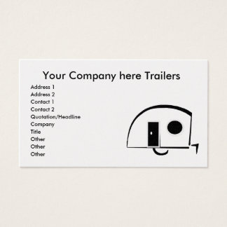 Trailers business cards