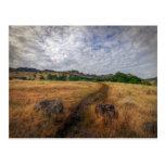 Trailhead, parque superior de Bidwell, Chico, Ca Postal