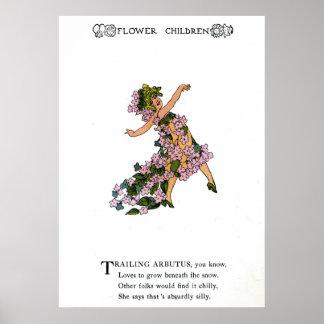 Trailing Arbutus Print