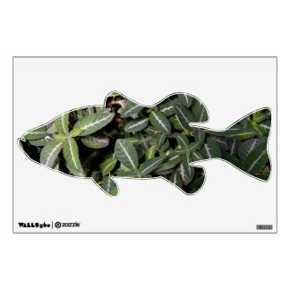 Trailing Velvet Plant Wall Decal
