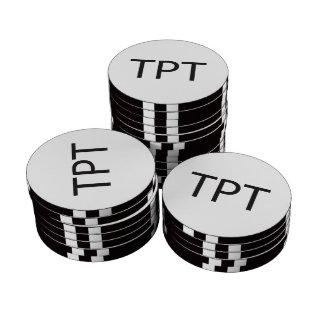 Trailor Park Trash.ai Poker Chip Set