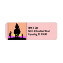 Trails end style address LABEL ~EZ2 Change Info