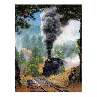 Train 19 postcard