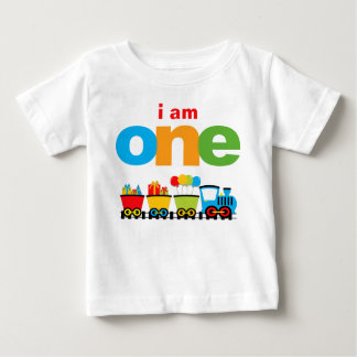 Train 1st Birthday T-shirt Toddler Baby Kid