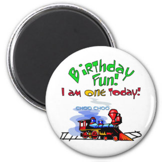 Train 1st Birthday Tshirts and Gifts Magnet