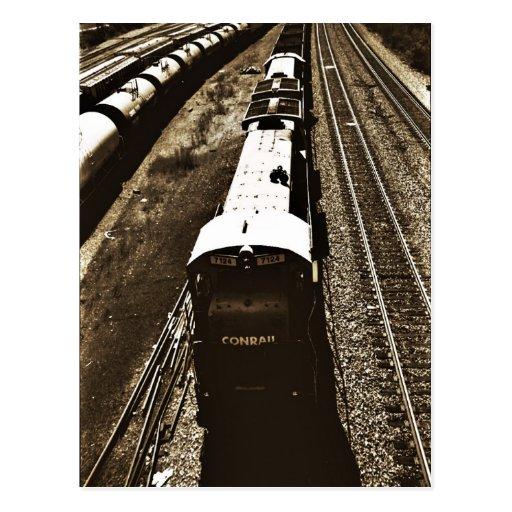 Train_2 Post Card