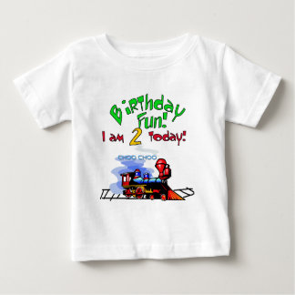 Train 2nd Birthday Tshirts and Gifts