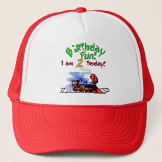 Train 2nd Birthday Tshirts and Gifts Trucker Hat