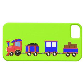 train-312107 train cartoon toy engine cars red blu iPhone 5 cover