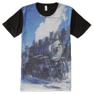 Train 3 All-Over print t-shirt