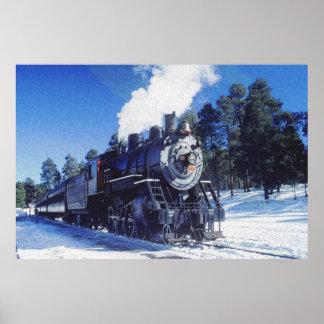 Train 3 Prints Print