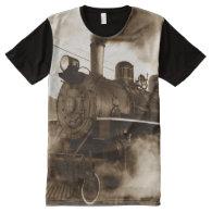 Train 4 All-Over print t-shirt