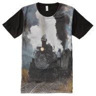 Train 5 All-Over print t-shirt
