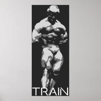 Train #5 (Platz) Poster