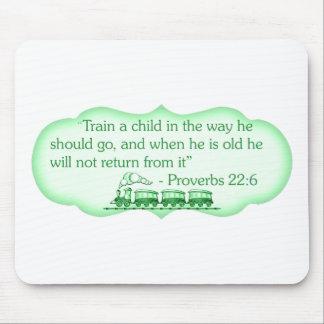Train a Child Mousepad