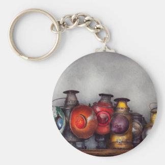 Train - A collection of Rail Road lanterns Basic Round Button Keychain