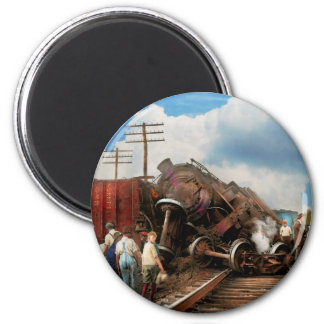 Train - Accident - Butting heads 1922 Magnet