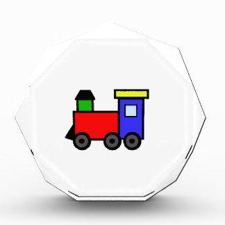 TRAIN APPLIQUE ACRYLIC AWARD
