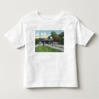 Train Arrival at Boyes Hot Springs Toddler T-shirt