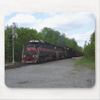 Train at Signal Mouse Pad