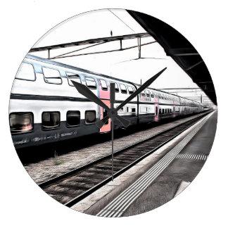 Train station wall clocks zazzle - Office depot saint lazare ...
