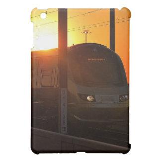 Train at sunset case for the iPad mini
