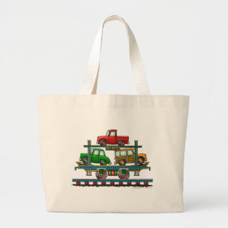 Train Auto Carrier Car Railroad Bags/Totes