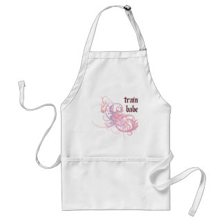 Train Babe Adult Apron