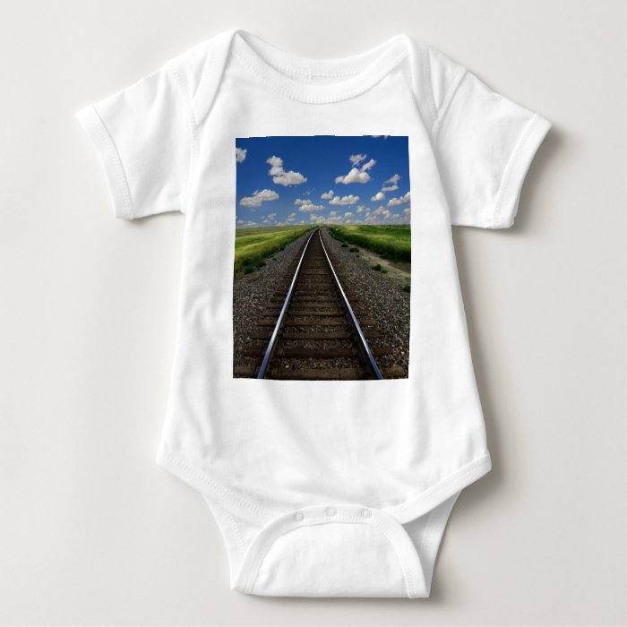 Train Baby Bodysuit