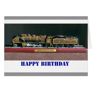 Train birthday card for DAD