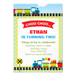 60 off train birthday invitations shop now to save zazzle train birthday invitation 5x7 photo card filmwisefo