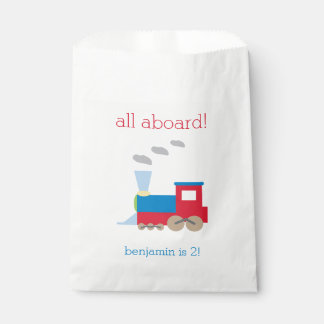 Train Birthday Personalized Goodie Bags