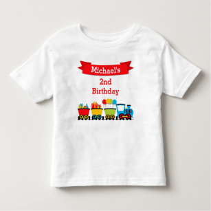 Train Birthday T Shirts