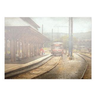 Train - Boarding the Scranton Trolley Announcements