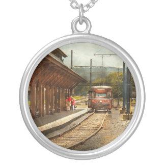 Train - Boarding the Scranton Trolley Custom Necklace