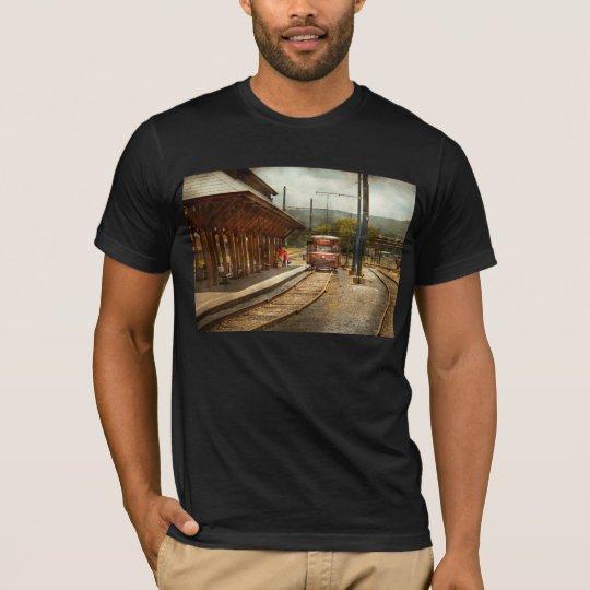 Train - Boarding the Scranton Trolley T-Shirt