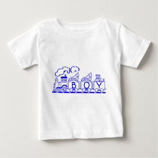 Train Boy Baby T-Shirt