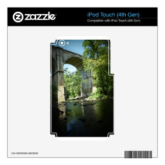 Train Bridge in Pennepack Park Decals For iPod Touch 4G