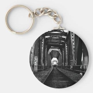 Train Bridge Keychain