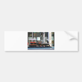 Train Bumper Sticker