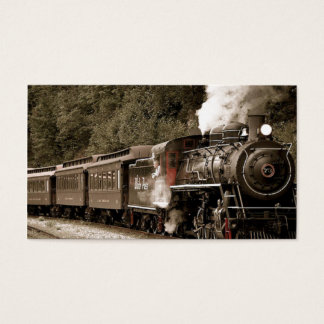 Train Business Card