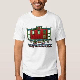 Train Caboose Car Railroad Apparel T-Shirt