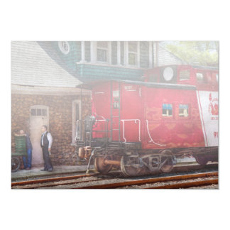 Train - Caboose - End of the line Card