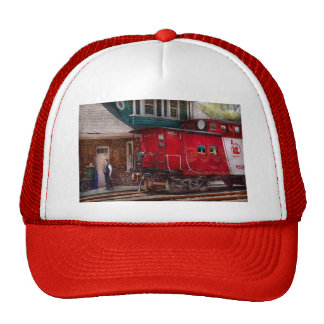 Train - Caboose - End of the line Trucker Hat