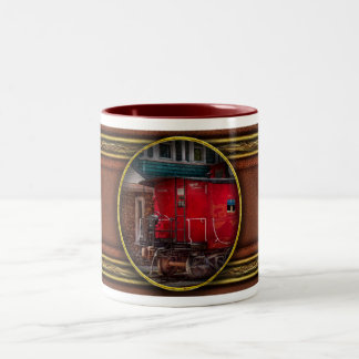 Train - Caboose - End of the line Mugs