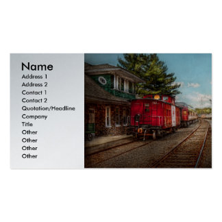 Train - Caboose - Tickets Please Business Card